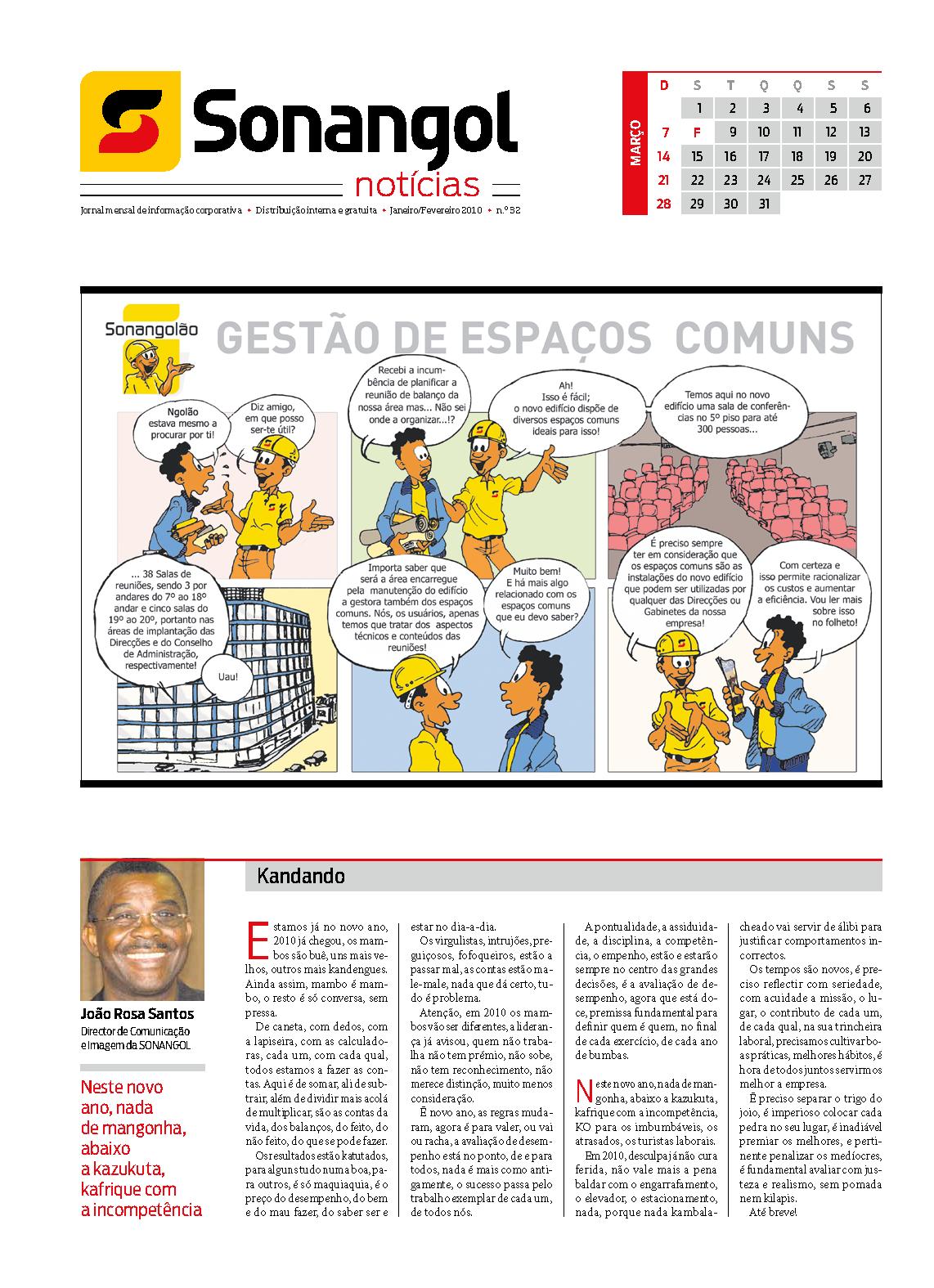 ZWELA — Jornal Sonangol Notícias n.º 32